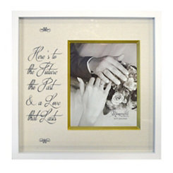 Here's to the Future Wedding Picture Frame, 8x10