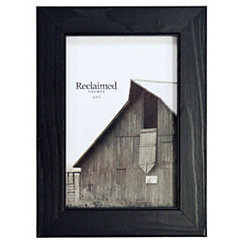Distressed Black Wood Picture Frame, 4x6