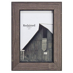 Graywashed Wood Picture Frame, 4x6