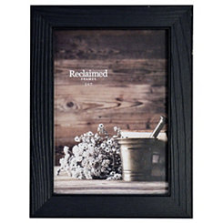Distressed Black Wood Picture Frame, 5x7