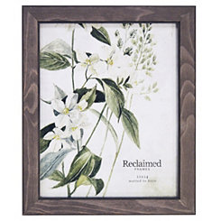 Graywashed Wood Picture Frame, 8x10
