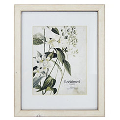 White Wooden Matted Picture Frame, 11x14