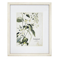 White Wooden Matted Picture Frame, 16x20