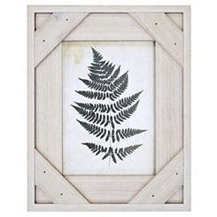 White Windowpane Picture Frame, 5x7
