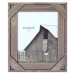 Graywashed Windowpane Picture Frame, 8x10