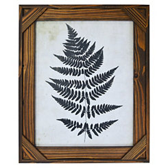 Espresso Stained Windowpane Picture Frame, 11x14