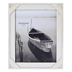 White Windowpane Picture Frame, 11x14