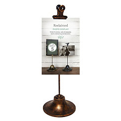 Bronze Single Clip Picture Stand