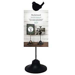 Black Bird Clip Picture Stand