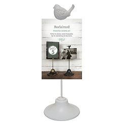 White Bird Clip Picture Stand