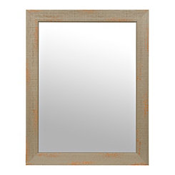 Weathered Gray Mirror