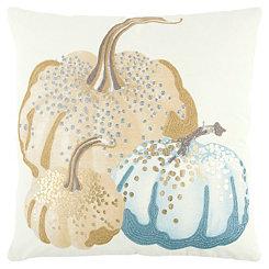 Shades of Harvest Pumpkin Pillow