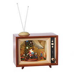 Visit To Santa Musical LED TV Set