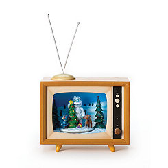 Rudolph Musical LED TV Set