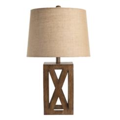 Open Block Table Lamp