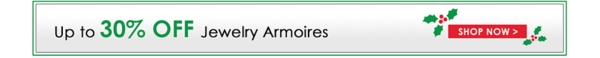Up to 30% Off Jewelry Armoires - Shop Now