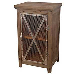 Chicken Wire Cabinet
