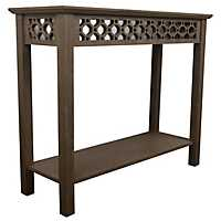 Winter Wood Antique Mirrored Console Table
