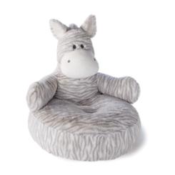 Zebbie Zebra Plush Pillow Chair