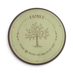 Family Tree Lazy Susan