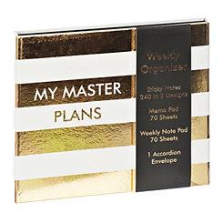 Master Plan Weekly Organizer