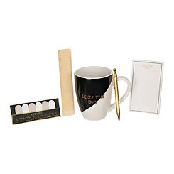 Seize the Day Stationery and Mug Set
