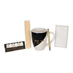 Seize the Day Stationery and Mug Set
