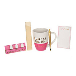 I Woke Up Like This Stationery and Mug Set