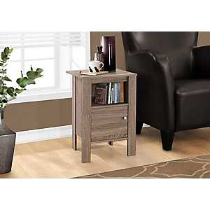 Reclaimed Wood Night Stand with Storage