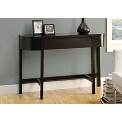 Cappuccino 1-Drawer Console Table