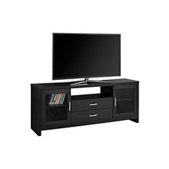 Cappuccino 2-Drawer Media Cabinet