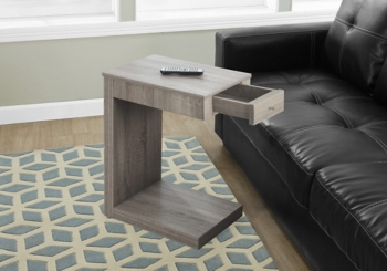 Reclaimed Wood 1-Drawer C-Table