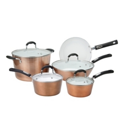 Copper Aluminum 9-pc. Non-Stick Cookware Set