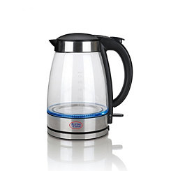 Glass Electric Tea Kettle With LED Light