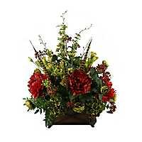 Peony, Ranunculus, and Hydrangea Arrangement