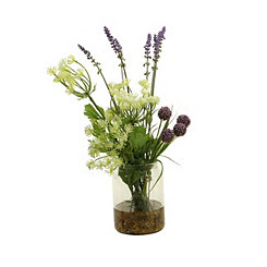 Queen Anne's Lace and Lavender Arrangement