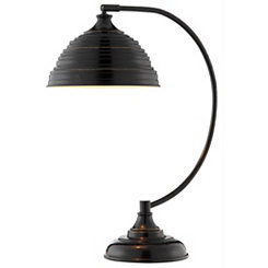 Bronze Swivel Table Lamp