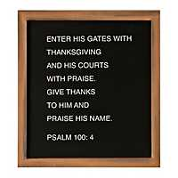 Enter His Gates Word Block