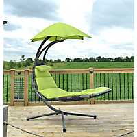 Green Dream Lounge Chair with Umbrella