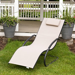 Cocoa Wave Lounger