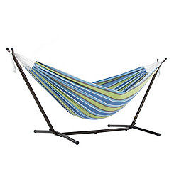 Oasis Double Hammock with Stand