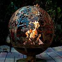 Wildlife Globe Fire Pit
