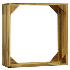 Wooden Framed Wall Shelf