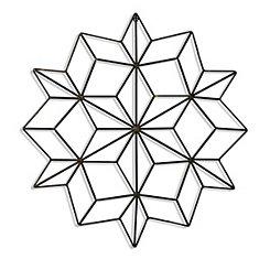 Kaleidoscopic Metal Wall Plaque