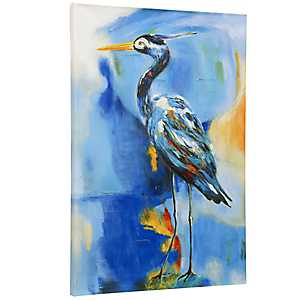 Tropical Bird Canvas Art Print