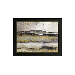 Contemporary Abstract Framed Art Print