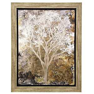 Impressionist Tree Framed Art Print