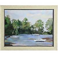 Water Landscape Framed Art Print