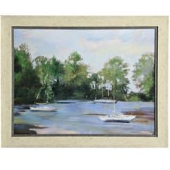 Water Landscape Framed Art Print