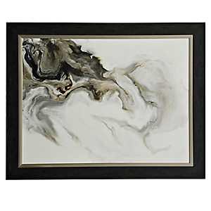 Smoke Trail Framed Art Print